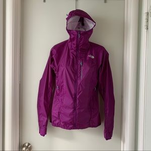 The North Face summit series purple shell szXS